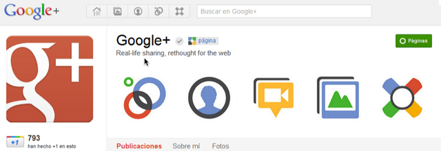 Launch of Pages Google+
