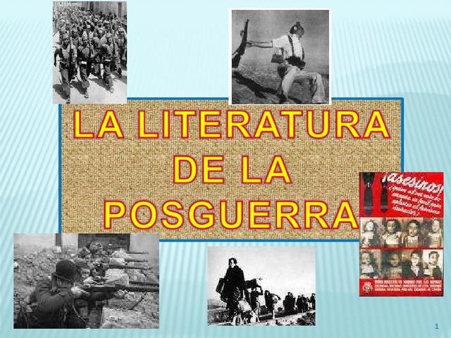 Literatura de Posguerra
