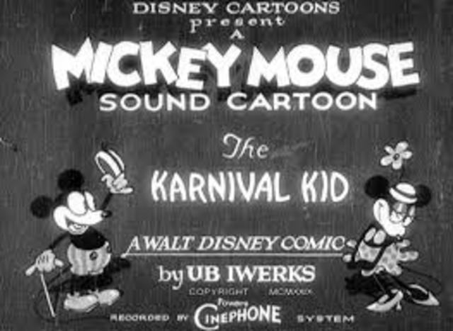 Mickey Mouse is introduced Minne