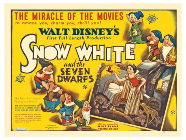 Walt Disney Productions premieres Snow White and the Seven Dwarfs.