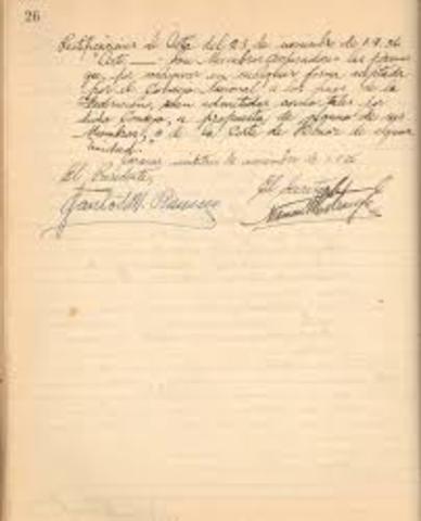 La Ley 40 de 1912