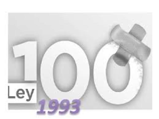 Nace la Ley 100