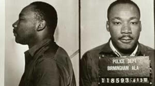 "King writes ""Letter from Birmingham City Jail"""