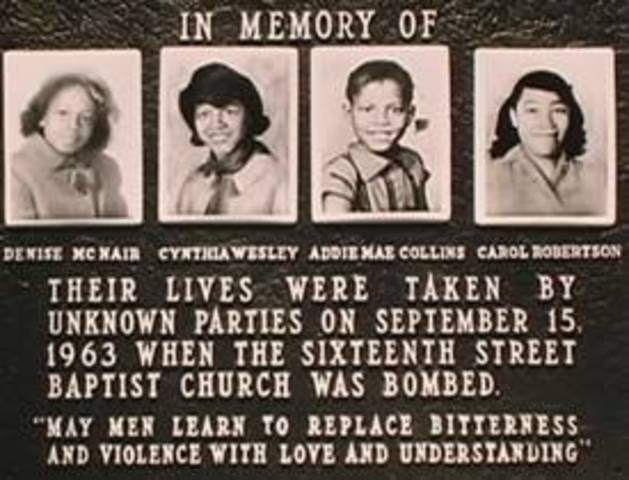 """King gives his speech """"Eulogy for the Martyred Children"""" after the bombing at 16th Baptist Street Church in Birmingham Alabama where four girls were killed by Robert Chambliss and his co-conspirators."""