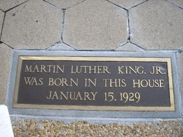Martin Luther King Jr. is born.