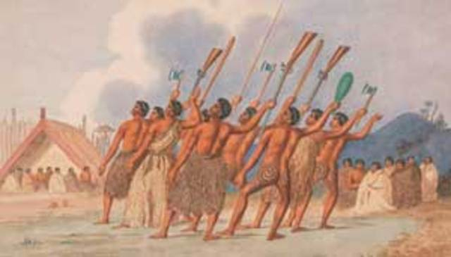 Maori Land Wars 1845 - 1872