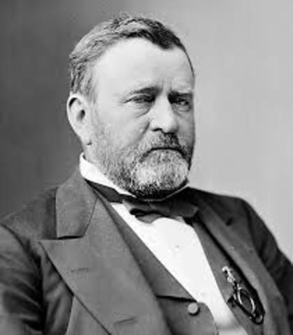 Ullyses S. Grant Seeks Third Term