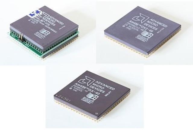Serie AMD Am486 (DX, DX2, y SX2)