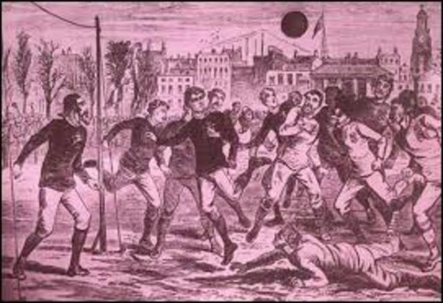 Soccer was created
