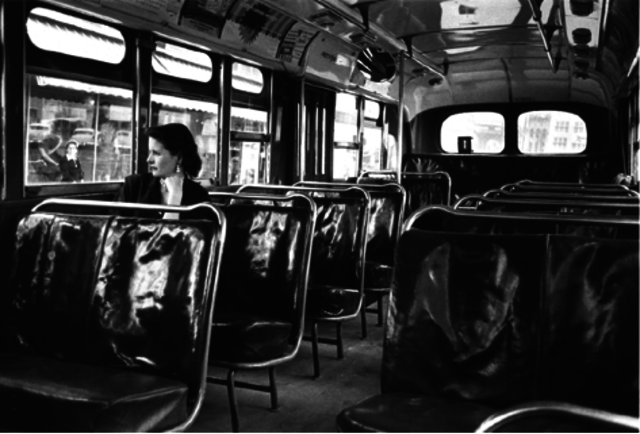 Martin Luther King leads the Montgomery Bus Boycotts
