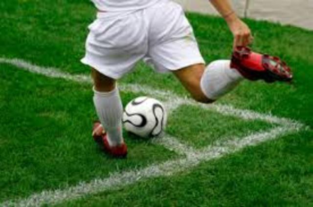 The corner kick