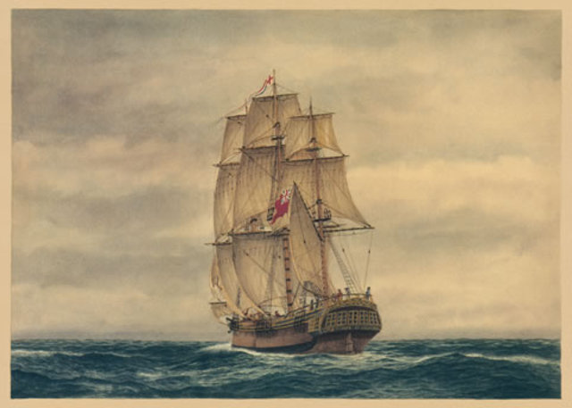 sailed to Sydney