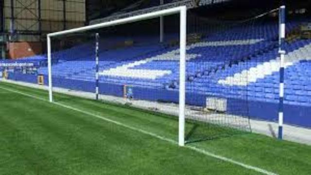 First FA Cup match with Goal nets