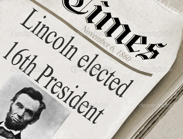 President Abraham Lincoln was elected as the 16th Amendment