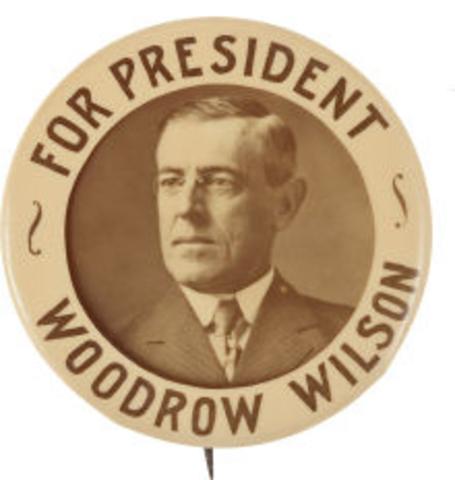 Woodrow Wilson election
