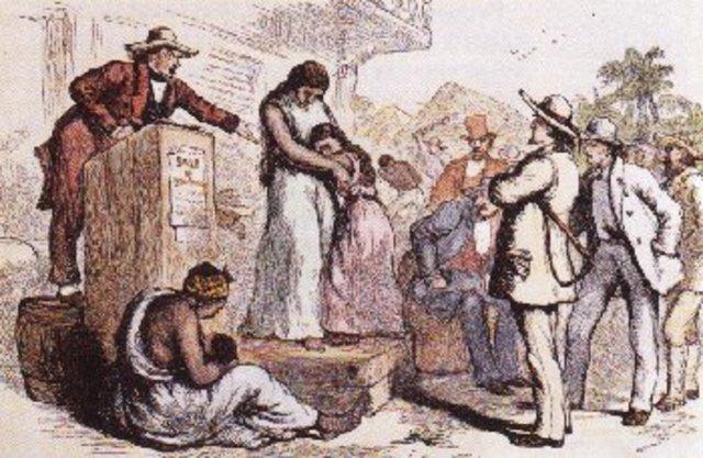 Slaves Brought to Jamestown, Virginia