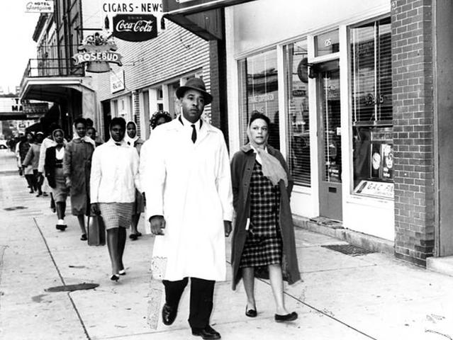 King led the Albany Movement - an unsuccessful protest of segregation in Albany, Georgia.