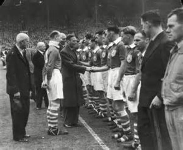 the first FA Cup Final after the world war