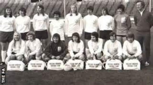 First international womens game