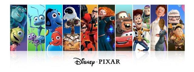Pixar and Disney
