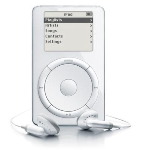 The Fisrt iPod