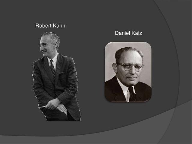 Daniel Katz and Robert Kahn
