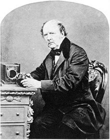 Henry Fox Talbot Creates Negatives