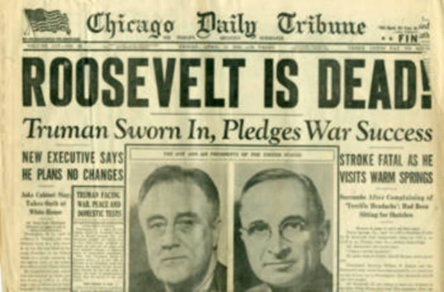 The Sad End of The FDR Reign