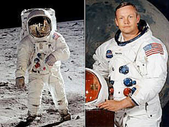 CUL. Niel Amstormg es el primer hombre en llegar a la luna