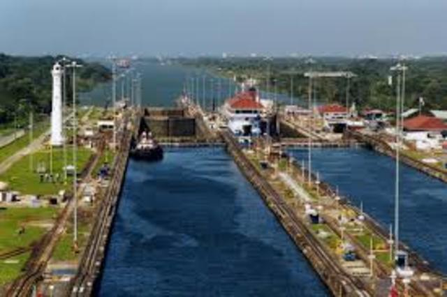 Panama Canal Opened