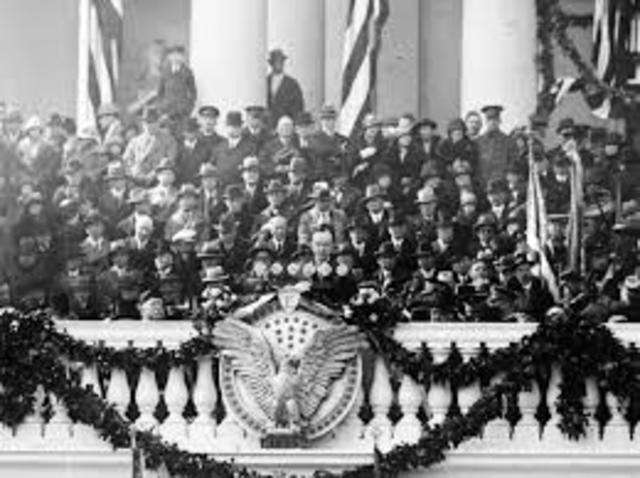 Coolidge Becomes President