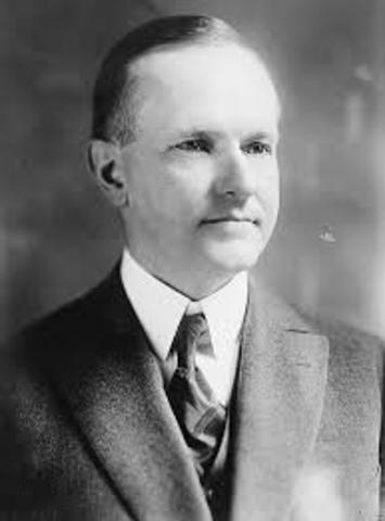 Coolidge Wins Election