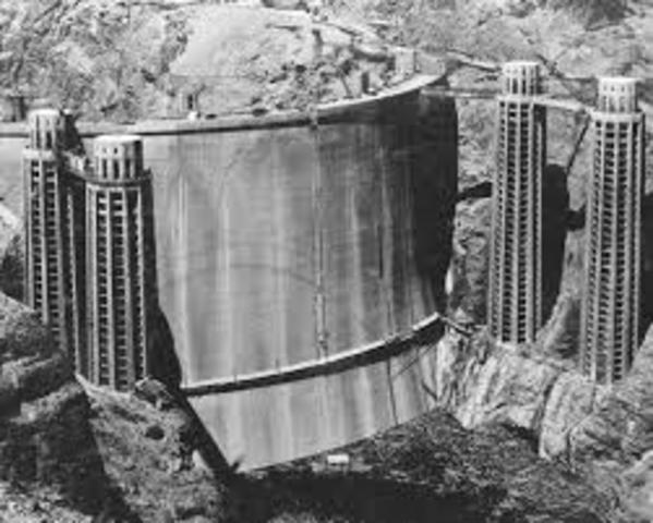 Hoover Dam Begun