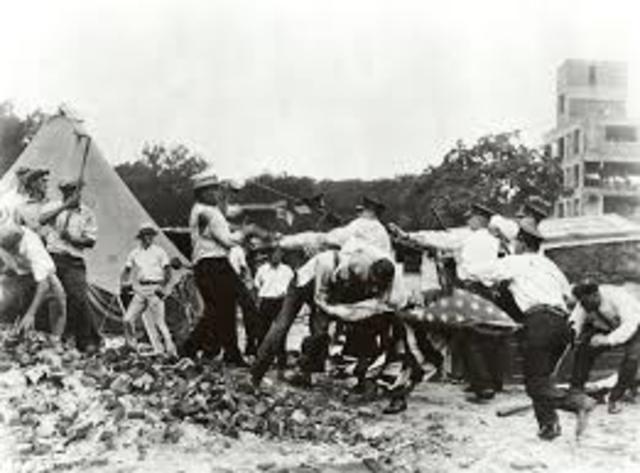 Hoover Orders Bonus Army Dispersed