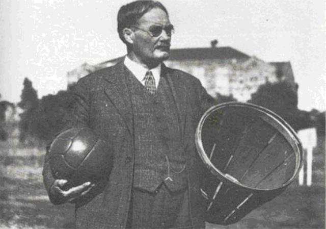Invención del baloncesto