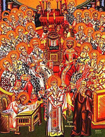 Concilio di Nicea - Monachesimo
