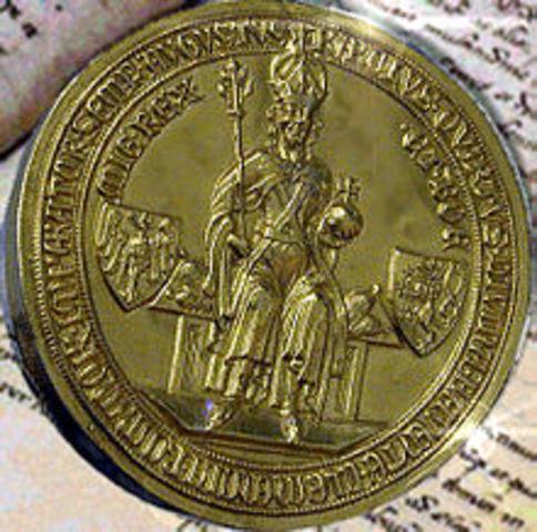 Bula de Oro de 1356