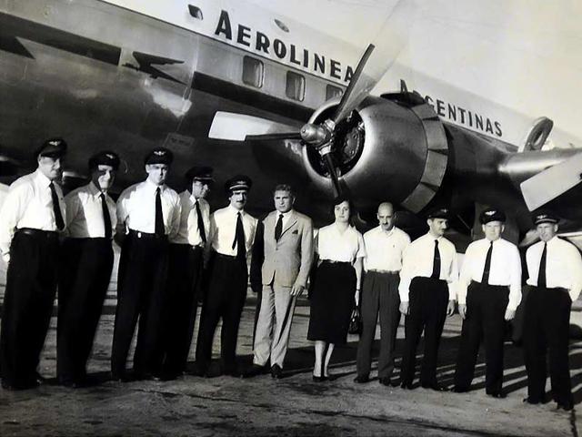 CUL. Se crea aerolineas argentinas