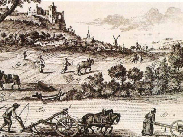 La agricultura era la actividad económica predominante antes del incio de la guerra civil.