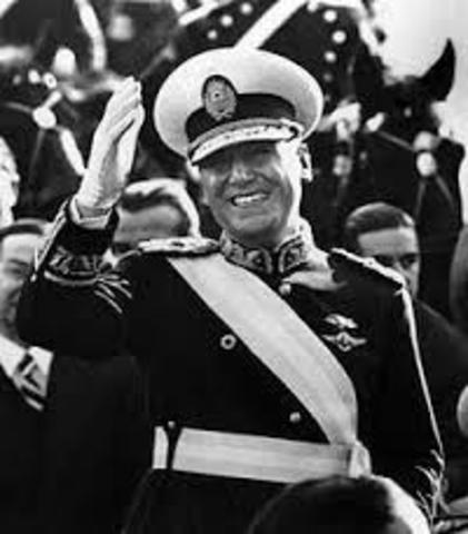 POL. Juan Domingo Peron inicia su segundo gobierno