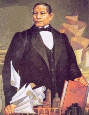 En la decada de 1850, las facciones liberales ganaron con el control políticocon líderes como Benito Juárez, Muguel Lerdo de Tejada y otros. Este ascenso se produjo despues de la pérdida de casi la mitad del territorio colonial de México.