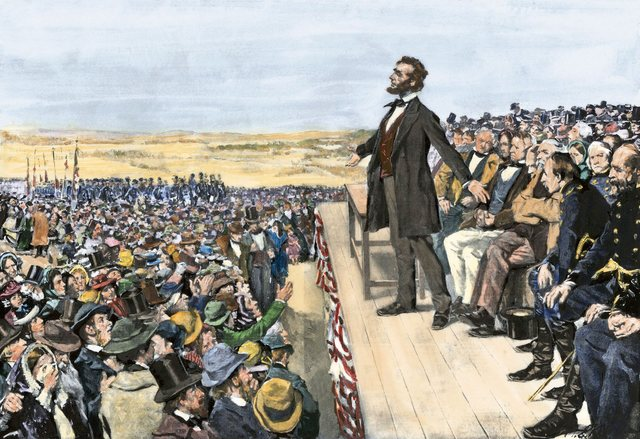Abolición de la esclavitud. Abraham Lincoln decreta la abolición de la esclavitud permitiendo a los afroamericanos tener un trabajo con salario.
