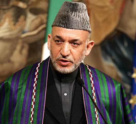 Karzai is elected President for 4 years