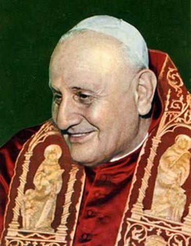 social: Fue elegido papa Juan XXIII