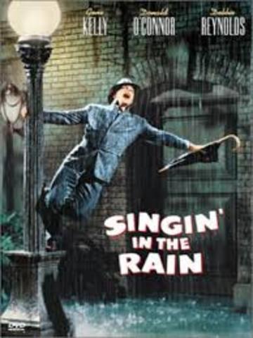 """Cultural:Se estrena en E.E.U.U la pelicula """"Cantando bajo la lluvia"""""""