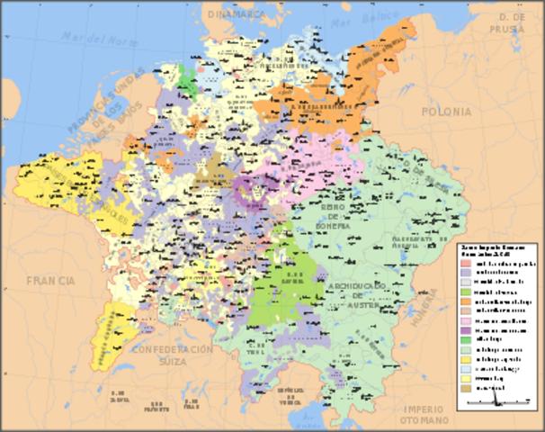 El Imperio depues de la Paz de Westfalia