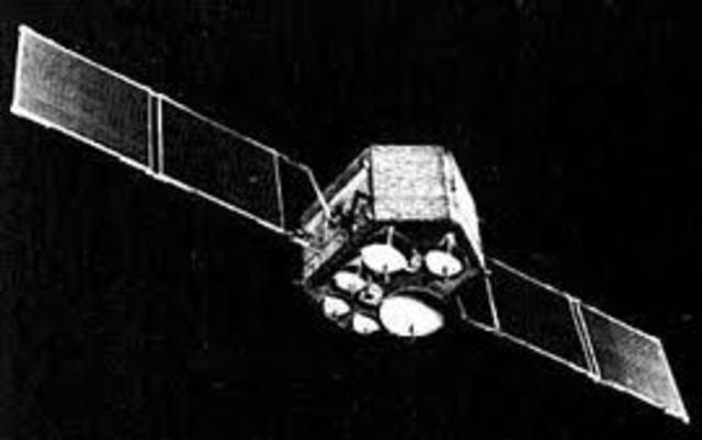 Primer Satélite de comunicaciones Europeo. OTS.