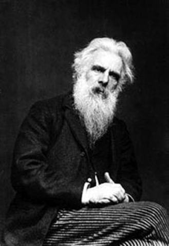 Eadweard Muybridge questions whether all four feet of a horse were off the ground at the same time while trotting
