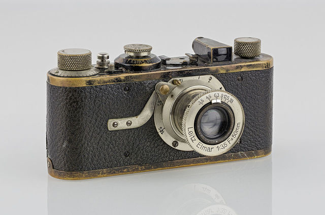 The Leica Camera becomes the first high quality 35mm camera