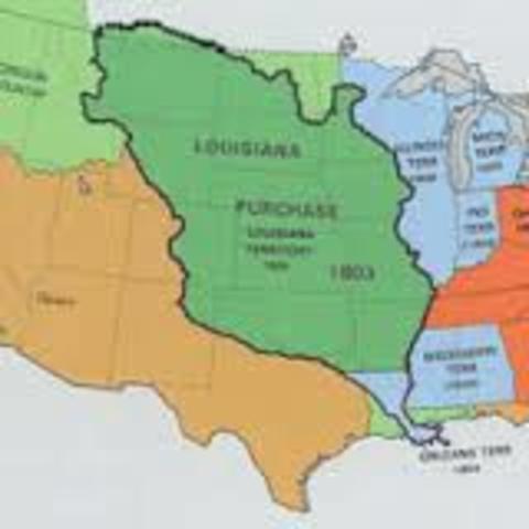Louisiana Purchase founded